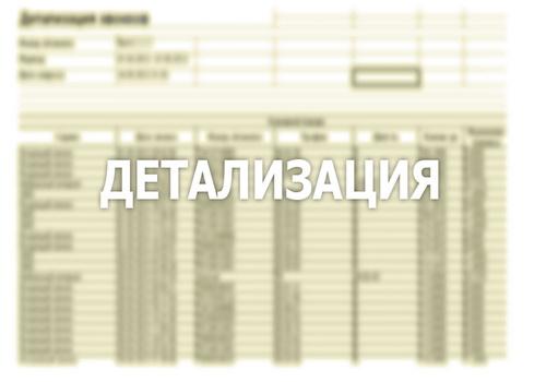 Детализация номера Билайн