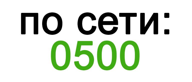 Короткий номер службы поддержки Мегафон